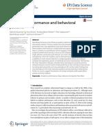 Academic Performance and Behav