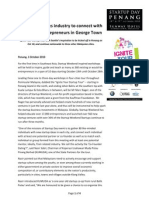 Startup Day Penang - KUMUDA Press Release 1oct10