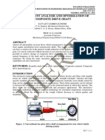 FINITE ELEMENT ANALYSIS AND OPTIMIZATION OF COMPOSITE DRIVE SHAFT