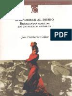 Del Deber Al Deseo_ Antropología