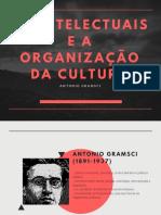 Os Intelectuais e a Organização Da Cultura