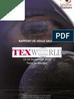 Texworld 2010 Paris Watch Report