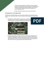 Komputer adalah perangkat elektronik yang memanipulasi informasi atau data.docx