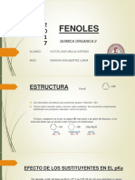 Fenoles-Alcoholes y Eteres