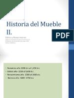 Historia Del Mueble Gótico y Renacentista