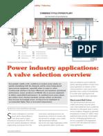 ValveWorldOctober ValveSelectionforPower