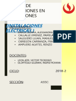 Instalacion Electrica Informe Imcompleto