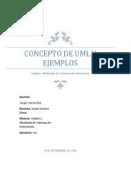 Concepto de UML y Ejemplos