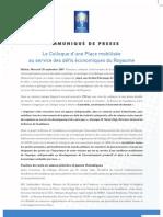 Plan Bourse 2009-2015