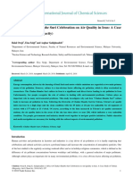 Effect of Chaharshanbe Suri Celebration on Air Quality in Iran a Case Study of Tehran Megacity