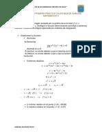Desarrollo Primera Práctica Calificada de Análisis Matemático II