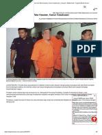 Penulis Blog Direman Kes Akta Hasutan, Kanun Keseksaan _ Jenayah _ Mahkamah _ Tragedi _ Berita Harian