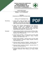 8.5.1 (1) SK Pemantauan Lingkungan Fisik Pkm