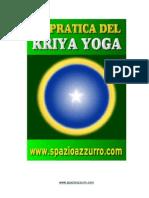 La Pratica Del Kriya Yoga