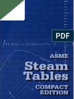 ASME Steam Table - 2006