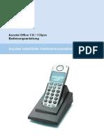 Ascotel Office 135 / 135pro Bedienungsanleitung