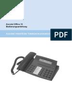 Ascotel Office 35 Bedienungsanleitung