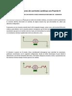 Puente h Transistores