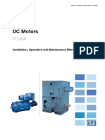 WEG Dc Motor Manual English
