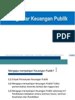 Pertemuan 1 Gruber4e_ch01 Keuangan Publik