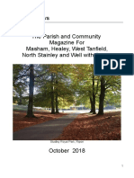 parish magazine october 2018