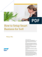 How to Setup Smart Business for SoH