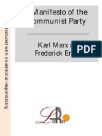 Manifiesto of the Communist Party