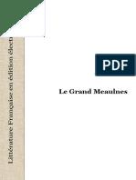 AlainFournier Le Grand Meaulnes