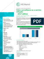 Abstract Video Surveillance as a Service Vsaas Report 2017