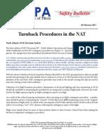 17SAB02 - Turnback Procedures in the NAT