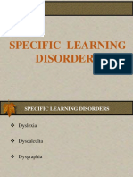 Specific Learning Disorders - Mrs. Sodhi