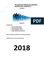 Diagnostico Del Mercado Laboral Del Ingeniero de Sistemas 2018 (Avance)