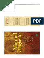 Manual de Linguística - Referência bibliográfica