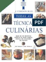 GamaralLe Cordon Bleu - Todas as Técnicas Culinárias - Jeni Wright, Eric Treuille