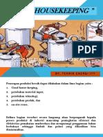 Konsep  Teknologi  Bersih-Good housekeeping.pptx