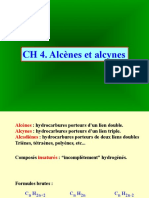 Alcenes Et Alcynes