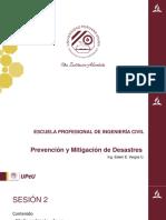 Prevención y Mitigación de Desastres 02