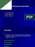 Polymer Processing- II