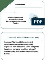 Bab 5 Aplikasi Informasi Akuntansi Differensial Dalam an Jangka Pendek