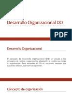 Desarrollo Organizacional DO Diapositivas