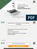 Aplikasi Rekrutmen BLU 2018