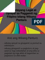 Wikang Pambansa