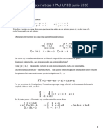 Soluciones Pau Uned Resuleto Modelo Matemáticas 2018 CFA
