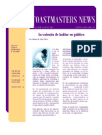 Toastmasters News-edición octubre 2010