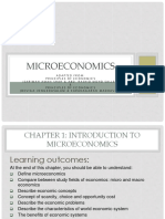 Chapter 1 Intro to Microeconomics
