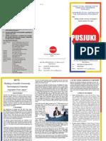 PUSAT STUDI JEPANG UNTUK KEMAJUAN INDONESIA (PUSJUKI)