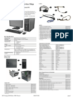 HP Compaq 8300 Elite Convertible Minitower Illustrated Parts & Service Map