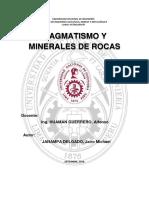 Magmatismo y Minerales de Las Rocas