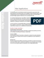 Single Fiber Applications