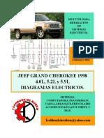 1998 Jeep Grand Cherokee Libro Terminado